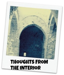 INTERIOR WORLD WITH TEXT
