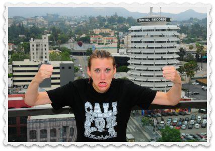 Gabi in LA - 2 July -ferocious