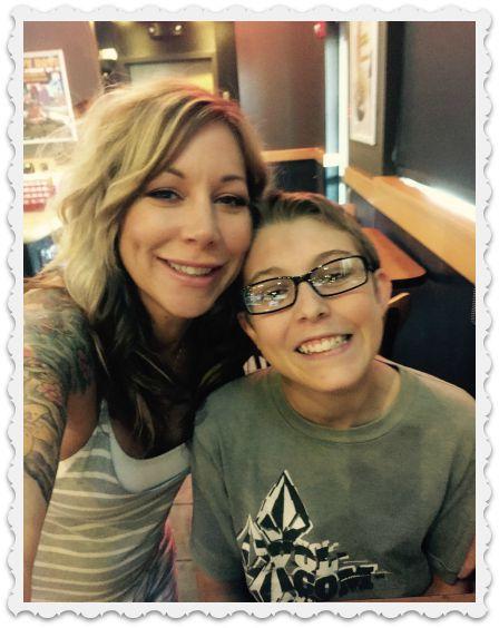 Heather's birthday lunch- 2015