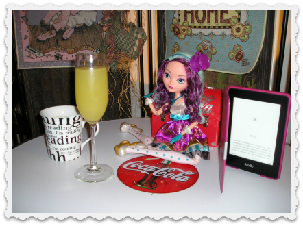 Coffee, Mimosa, & reading - 2