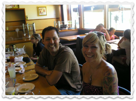 Brett & Heather - a few years ago