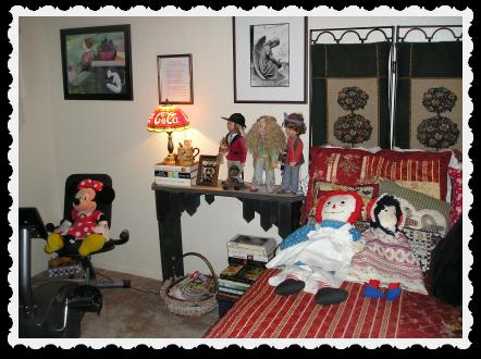 May 3 - bedroom rearranged