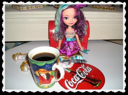 Madeleine on June 15 - coffee