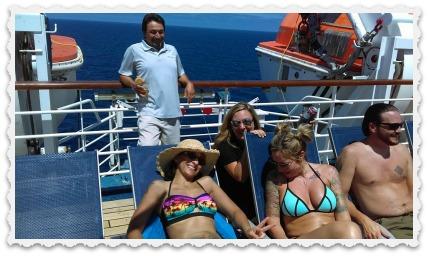 Cruise - Sunbathing
