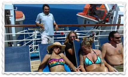 Cruise - Sunbathing