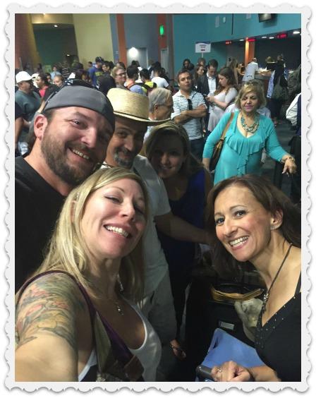 Heather & friends - cruise
