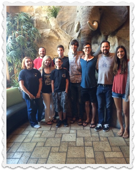 July 31 - family group 1