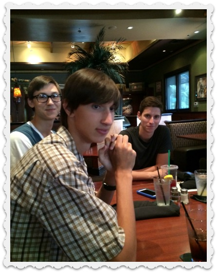 July - Aaron, Alec, Dominic