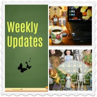 WEEKLY UPDATES:  A WEEK OF READING, BLOGGING, & ORGANIZING...