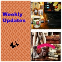 WEEKLY UPDATES:  GREAT BOOKS & GOOD FOOD...